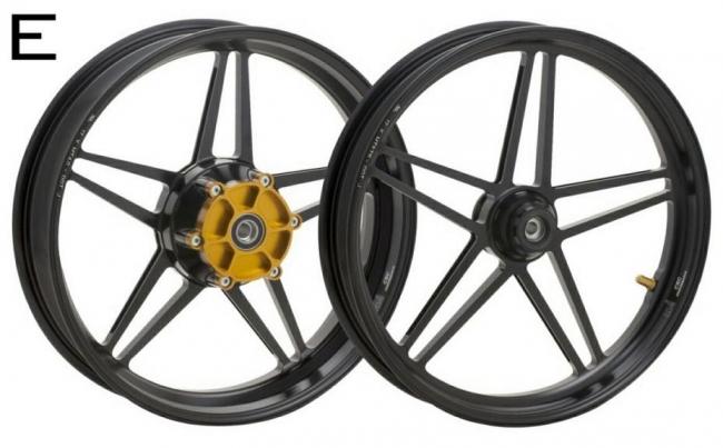鋁合金鍛造輪圈組 E款