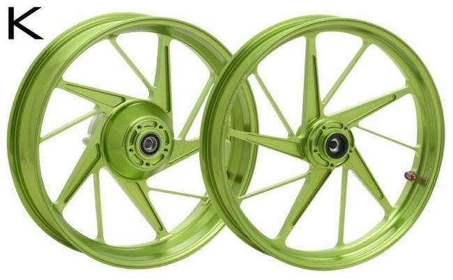 鋁合金鍛造輪圈組  K款