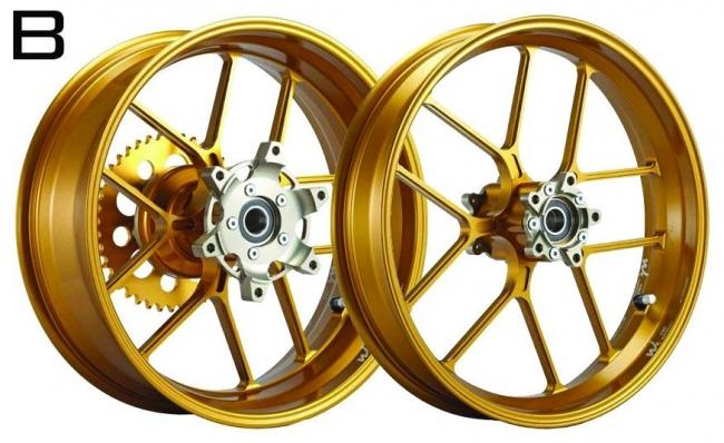 鋁合金鍛造輪圈組  B款
