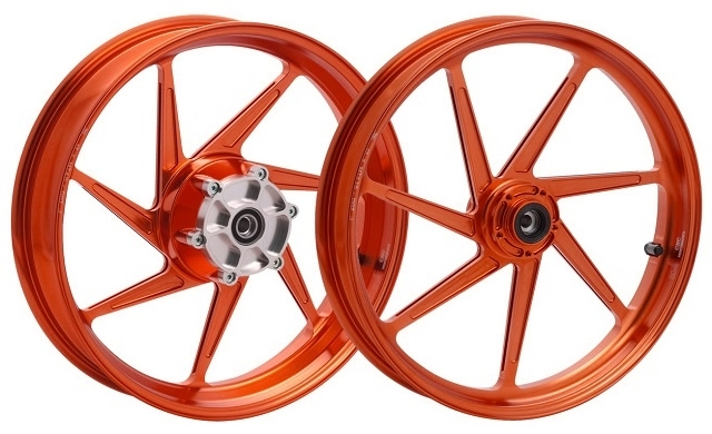 【WUKAWA】鋁合金鍛造輪圈  S 款 - 「Webike-摩托百貨」