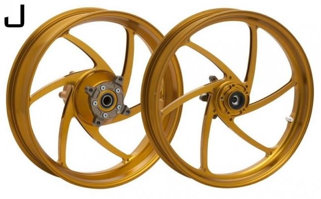 鋁合金鍛造輪圈 J 款