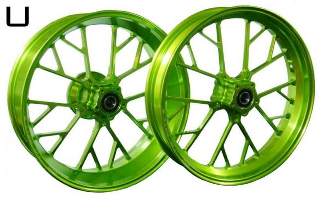 鋁合金鍛造輪圈組  U款