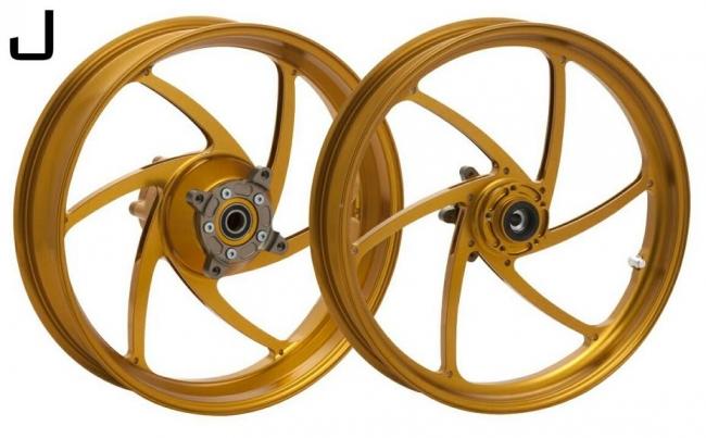 鋁合金鍛造輪圈組  J款