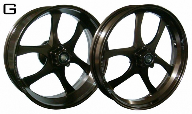 鋁合金鍛造輪圈組  G款