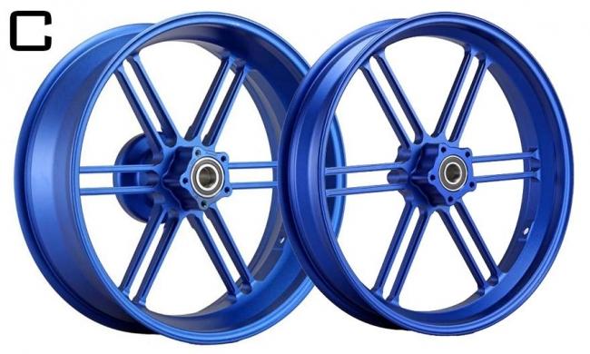 鋁合金鍛造輪圈組  C款
