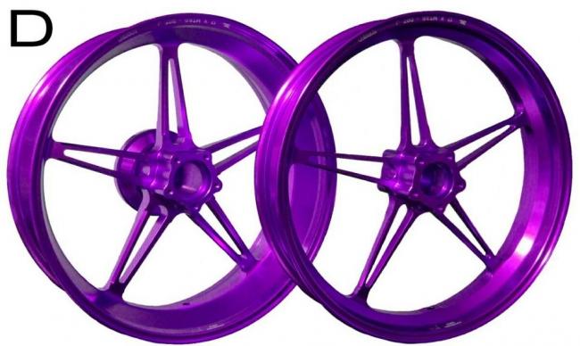 鋁合金鍛造輪圈組 D款