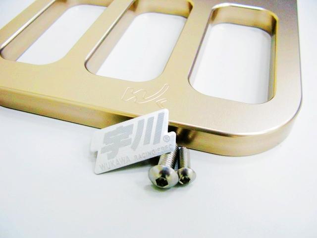 宇川 CNC 鋁合金造型後架 cuxi100 專用