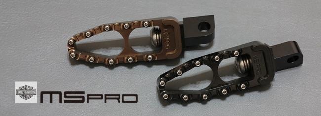 【MS PRO】MS PRO series Harley-Davidson車系專用CNC前腳踏