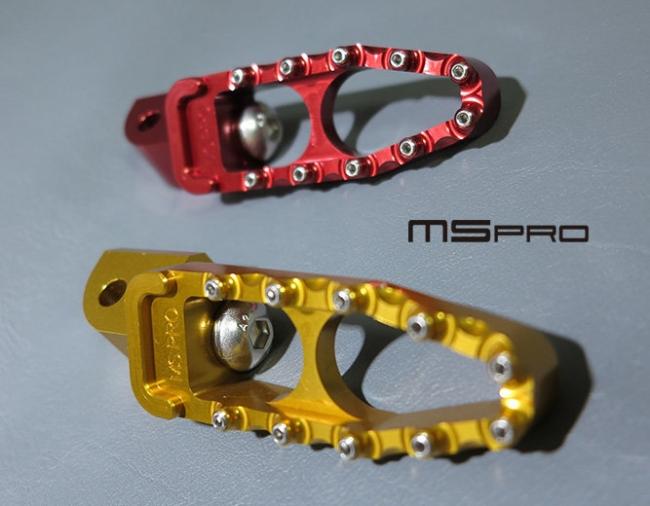【MS PRO】MS PRO series YAMAHA TMAX530 專用CNC後腳踏