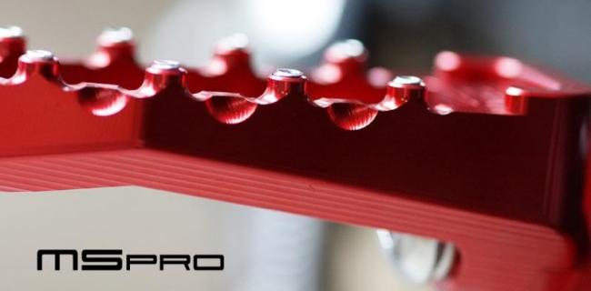 【MS PRO】MS PRO series DUCATI車系專用CNC後腳踏