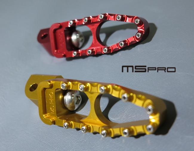 【MS PRO】MS PRO series KWASAKI 車系專用CNC後腳踏