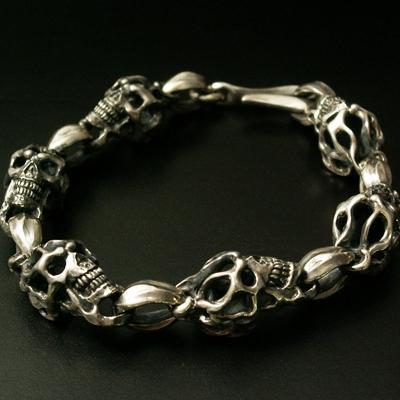 Rolling  Skull  Bracelet 手環