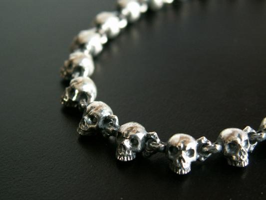 【S.O.F】Chibi  Skull  Bracelet 手環 4mm
