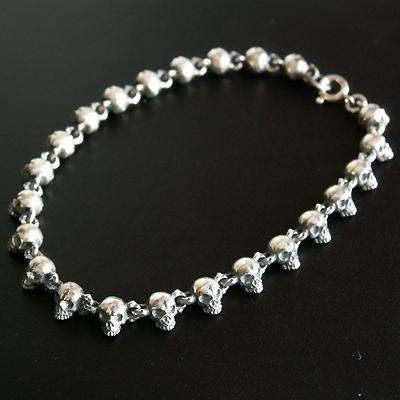 Chibi  Skull  Bracelet 手環 4mm