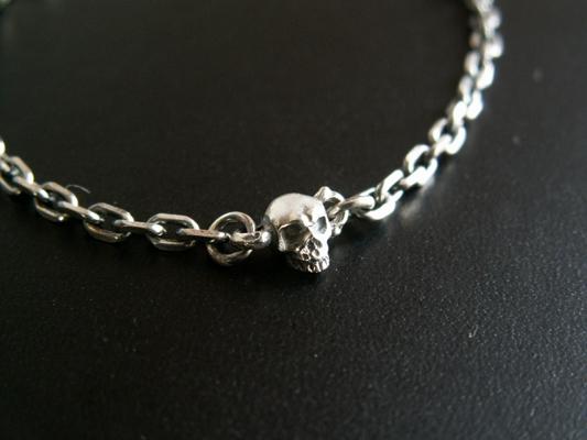 【S.O.F】Chibi   Skull   Bracelet 手環