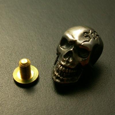 Skull  Concho 鈕扣