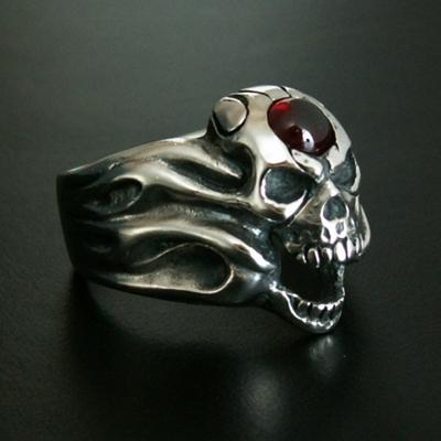 【S.O.F】Fire Skull  No,2 戒指