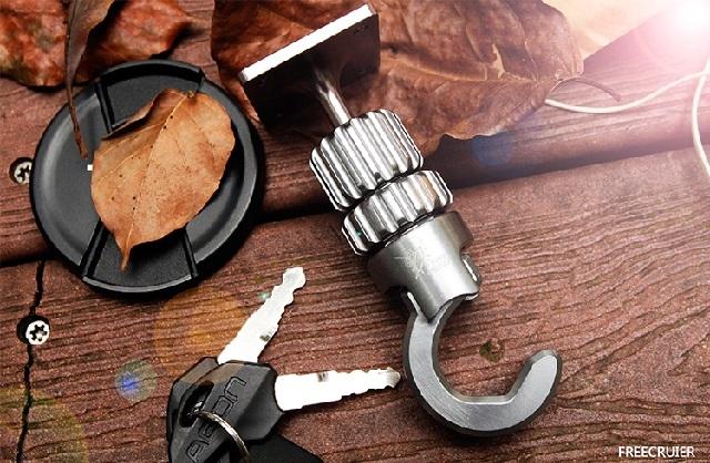 鋁合金掛勾支架 (適用管徑19-22mm)