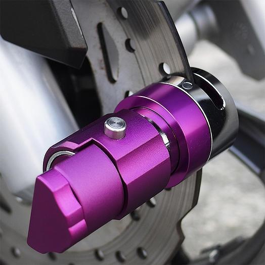 機關碟煞鎖(紫色)