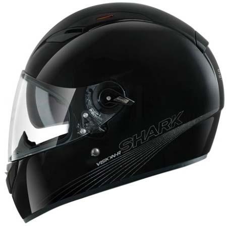 VISION-R BLANK BLK 全罩式安全帽