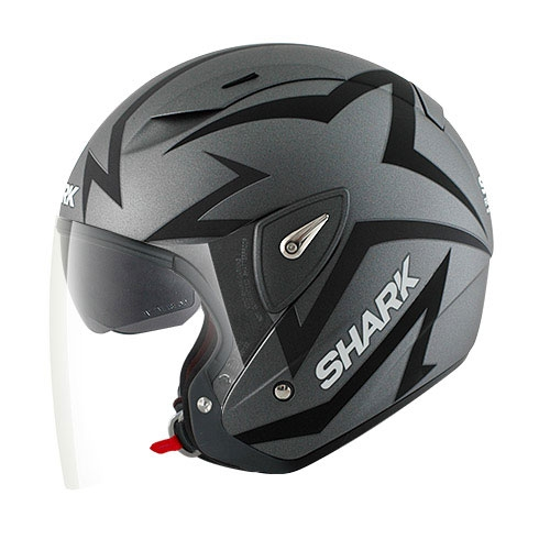 RSJ STARRY MAT ST SKK 四分之三安全帽