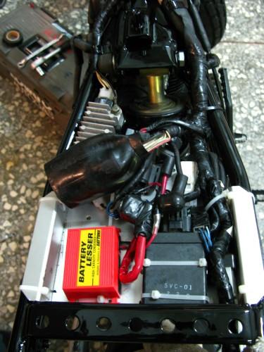 電池掏空套件(12V) DAYTONA