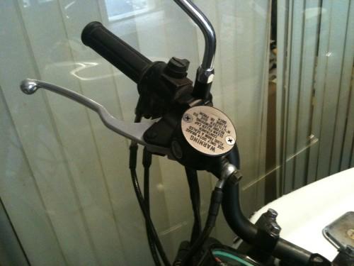 Retro 圓型一體式前煞車主缸 NISSIN