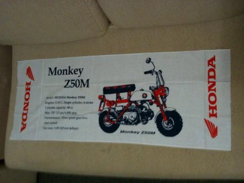 Z50M 日本手拭巾 HONDA