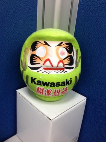 Kawasaki 開運達摩 KAWASAKI