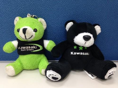 星星熊鑰匙圈 KAWASAKI