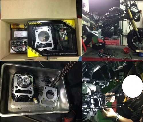 HYPER-S stage加大缸徑套件(181cc) SP武川