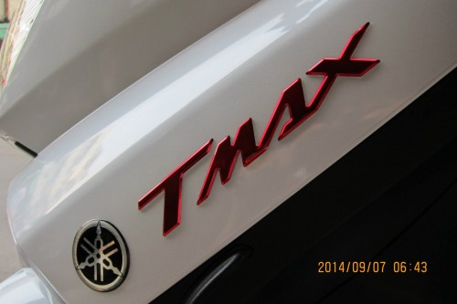 TMAX標誌貼紙組 YAMAHA