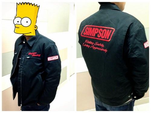 純棉夾克 SJ-4111 SIMPSON
