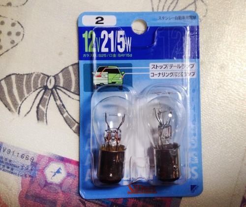 尾燈燈泡 氣泡紙包裝 STANLEY