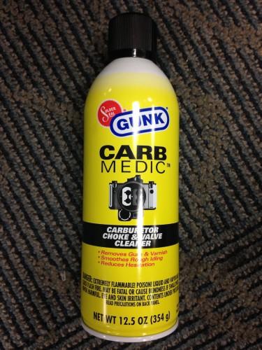 化油器清洗劑-(強效型) GUNK