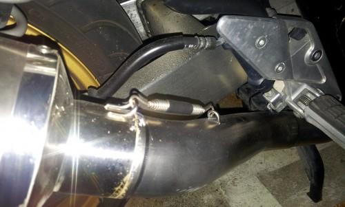 排氣管彈簧 (長) MORIWAKI