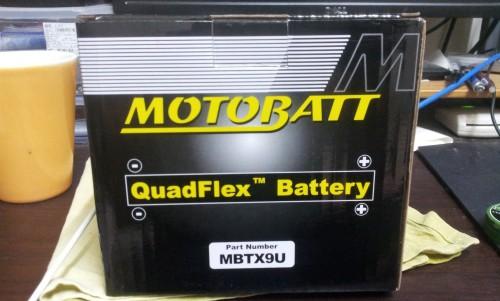 AGM 閥控式強效電池-MBTX9U  MOTOBATT