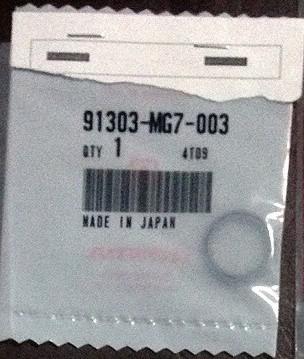 91303-MG7-003 HONDA