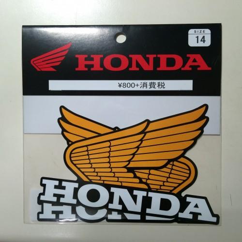 Old wing貼紙14 HONDA