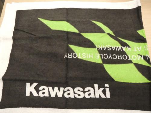 Kawasaki 勝利格紋毛巾 KAWASAKI
