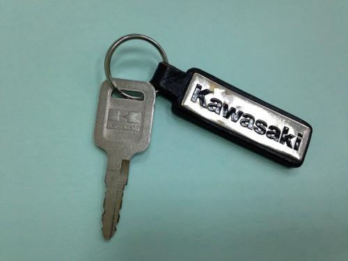 銘牌鑰匙圈 KAWASAKI