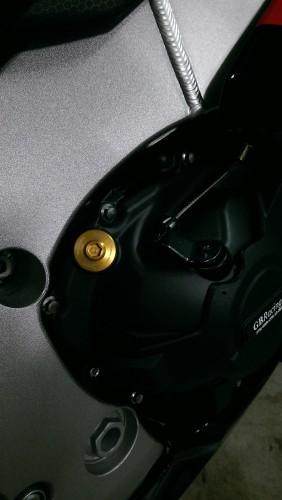 機油注油蓋 M20xP2.5 金色 TSR