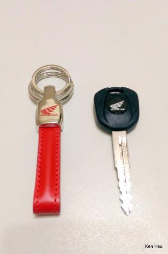 環可拆鑰匙圈 HONDA
