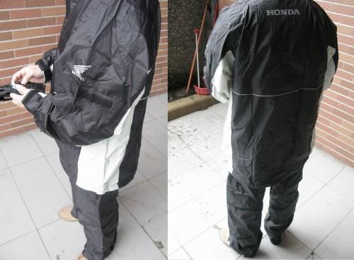 Active・成套雨衣 HONDA