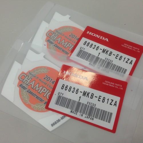 86836-MKB-E81ZA HONDA
