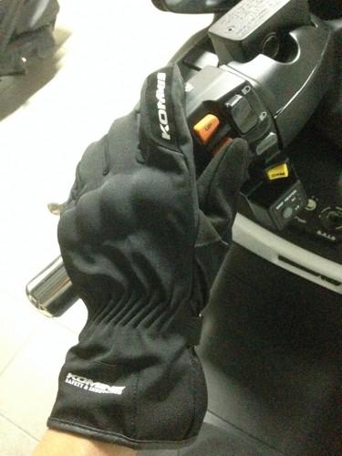 GK-782 防護冬季輕量手套 KOMINE