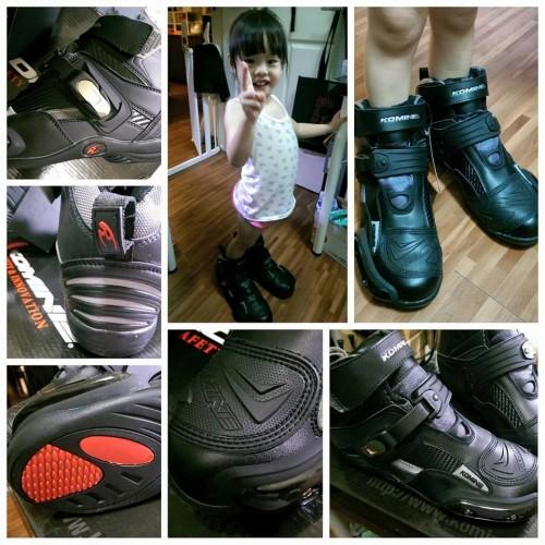 BK-075 騎士鞋 KOMINE