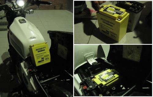 MB12U AGM 閥控式強效電池+PD-CWB 智慧型防水充電器(特惠組) MOTOBATT