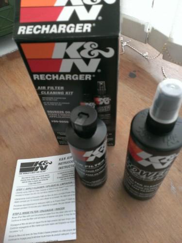 空氣濾芯保養組 K&N