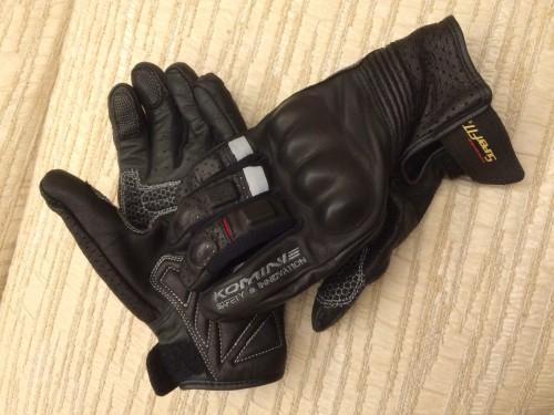 GK-141 Super fit 防護皮革手套Appia KOMINE